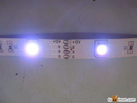 Контактные площадки на светодиодной ленте