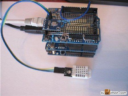 Ethernet погодная станция на Arduino