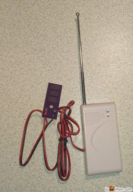 Увеличение зоны контролируемой сенсором беспроводного датчика протечки