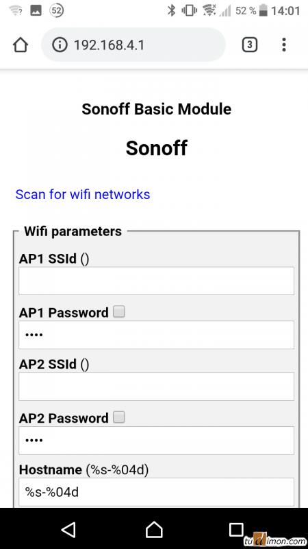 Прошиваем Sonoff RF bridge альтернативной прошивкой Tasmota
